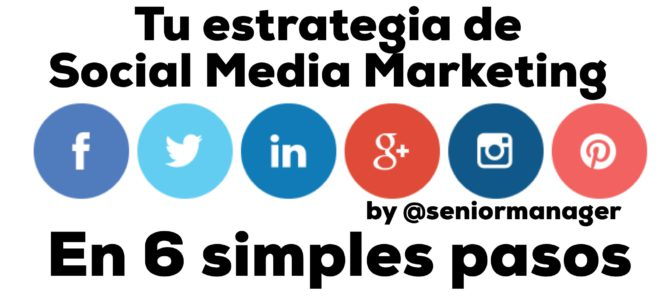 Cómo empezar con tu estrategia de social media marketing en 6 pasos